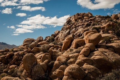 Rocks in Joshua Tree