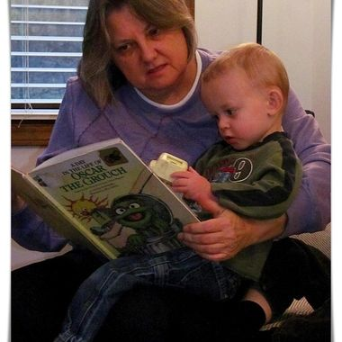 Reading with Auntie