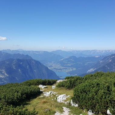 I took this photo when me and my family went to Austria for our holiday in the year 2016. We stayed at Hallstatt for a week and during that period we went up the Dachstein mountains to see the breathtaking scenery.