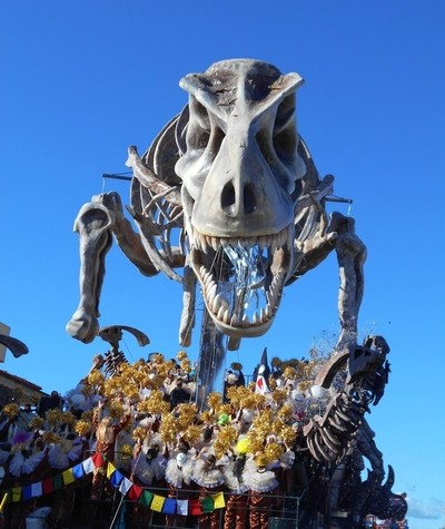Viareggio Carnival - The Dinosaur