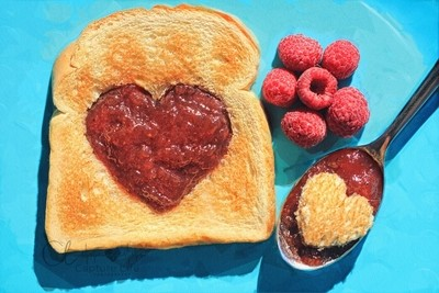 Jus a HEARTy breakfast of love... ♥ ヅ