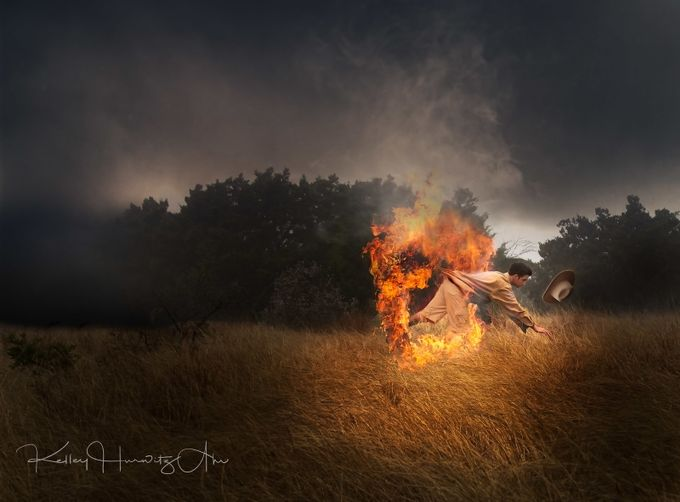 fire jumper by kelleyhurwitzahr - Capture The Four Elements Photo Contest