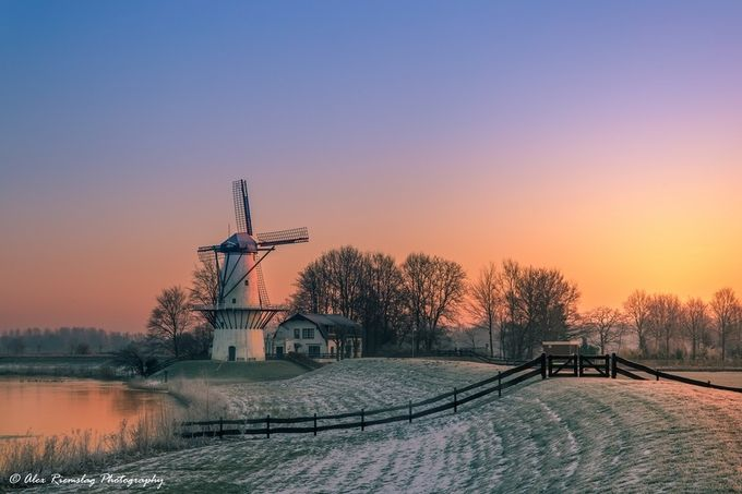 A winters day in the Netherlands by alexriemslag - Unforgettable Landscapes Photo Contest by Zenfolio