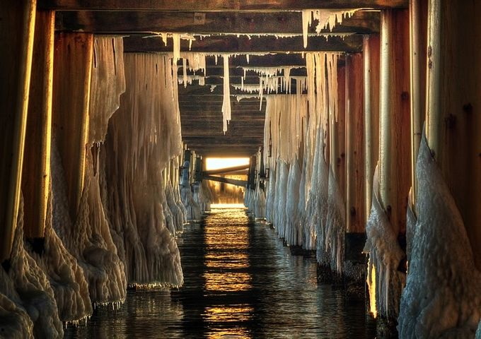 Light at the end by aleoko - The View Under The Pier Photo Contest
