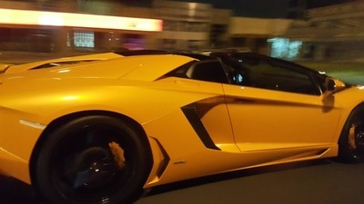 Lamborgini captured