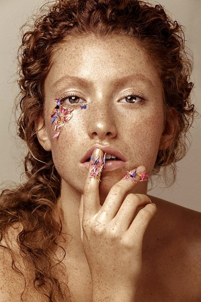 Lovely freckles