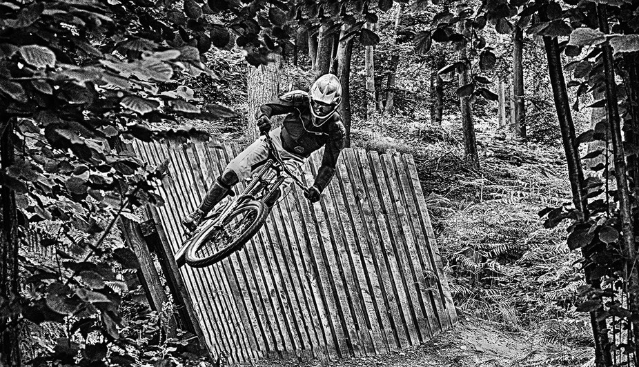 Daring Cyclist