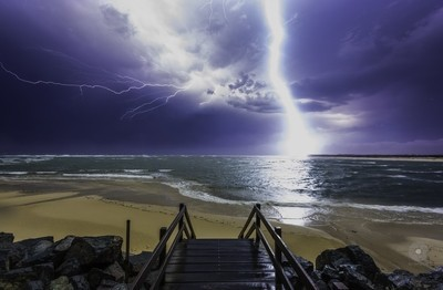 Natures fury