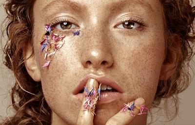Lovely freckles Cover
