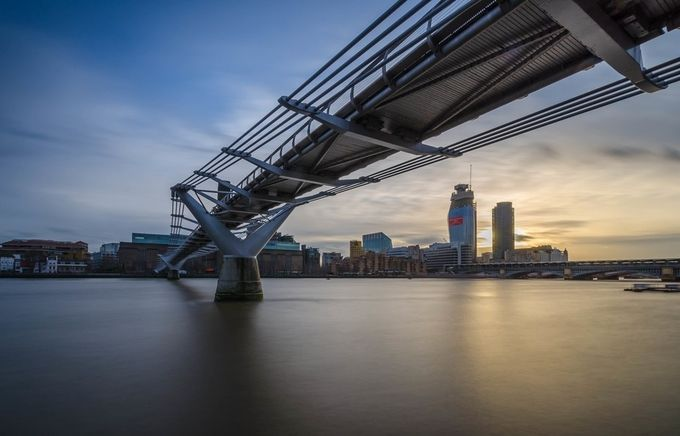 Millennium Bridge London by Emperorzurg123 - Rule Of Seconds Photo Contest vol1
