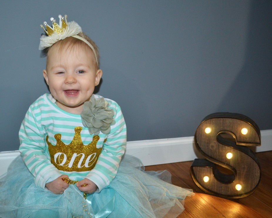 Photos from Selina's 1st birthday photo shoot! This was actually part 2 of her shoot - t...