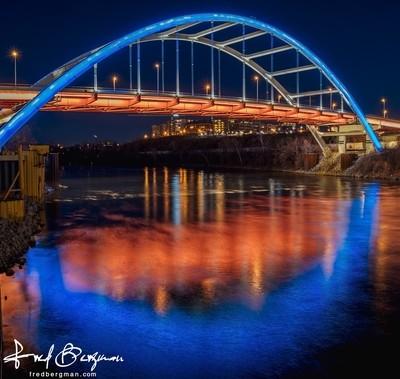 Gateway Bridge Reflection