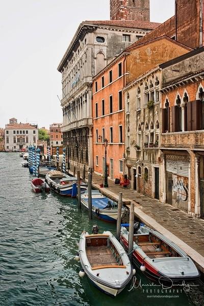 Through Venice..