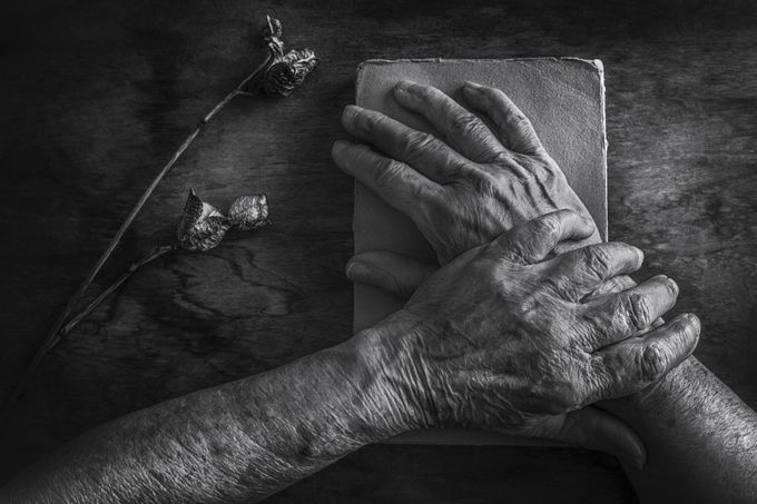 Old hands by sxsvexen - Shooting Hands Photo Contest