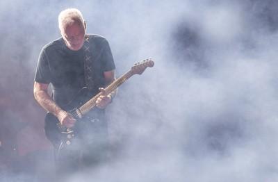 David Gilmour at Pompei