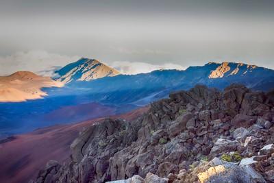 Edge of the volcano