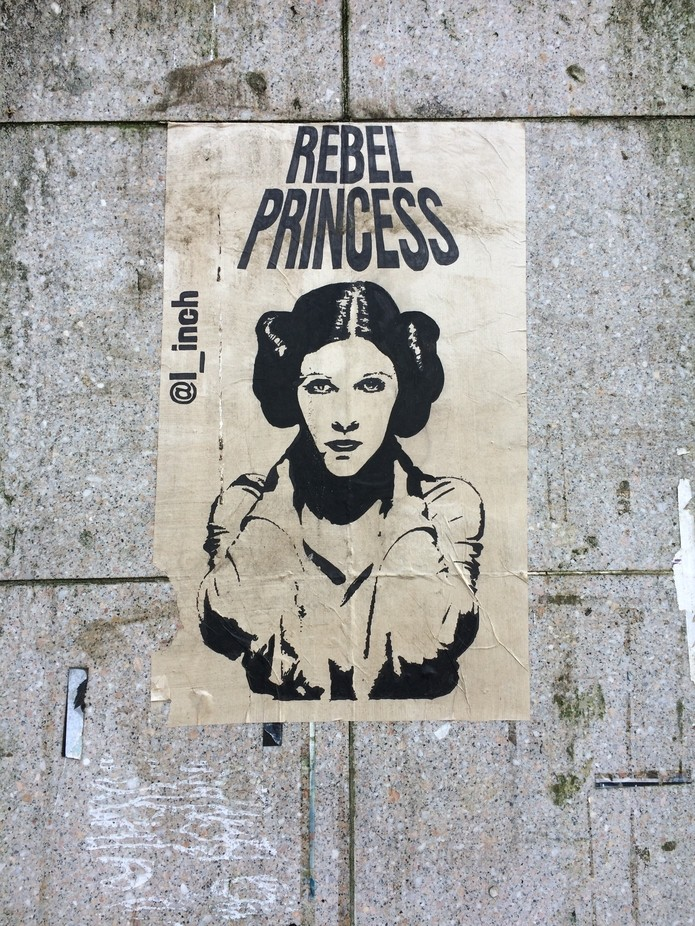 RIP Carrie Fisher...