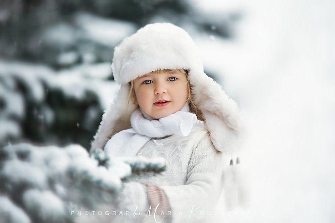 Winter brightness by MariaKruusenvald - Portraits With Depth Photo Contest