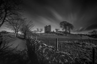 Balvaird Castle b&w  Feb 17
