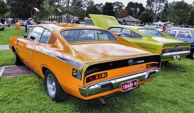 Charger R-T -  Caribbean Chrysler Car Show, Scoresby.