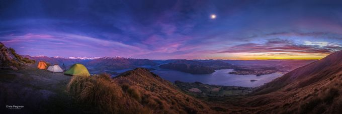 First Light Over Wanaka by chrispegman - Outdoor Camping Photo Contest