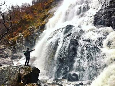 Chasing waterfalls in glen nevis!!!