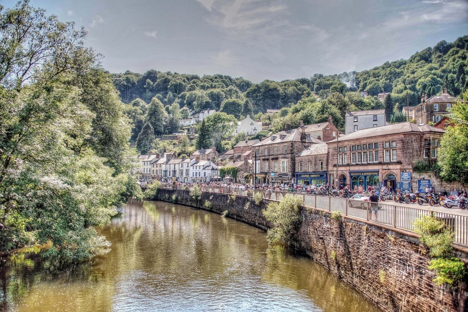 "Matlock Bath, Derbyshire, England - The ""Britain"" Collection"