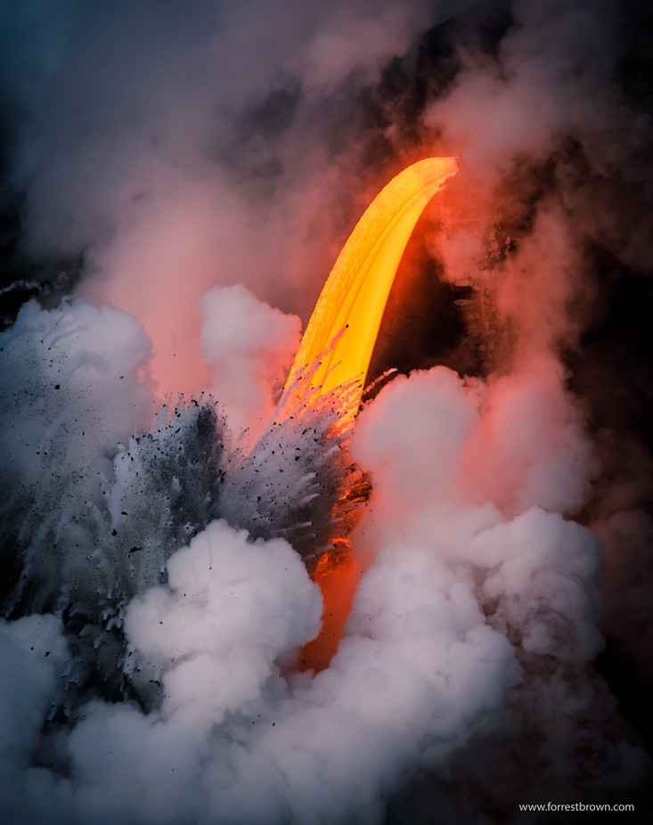 Volcano by Forrest_Brown - Capture The Four Elements Photo Contest