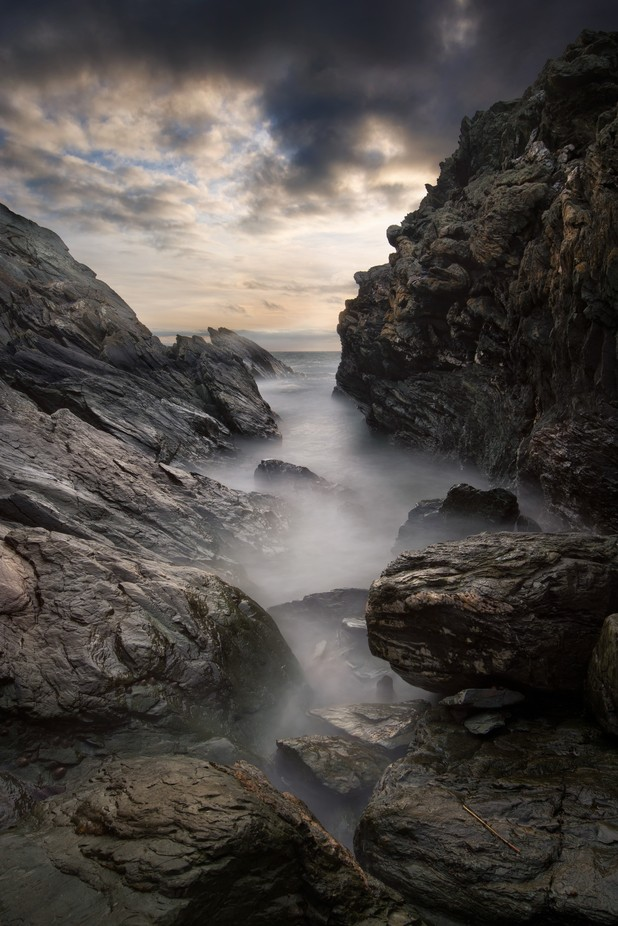 RENAISSANCE ROCK - DAFARGH'S GULLY by robamsbury - Long Exposure In Nature Photo Contest