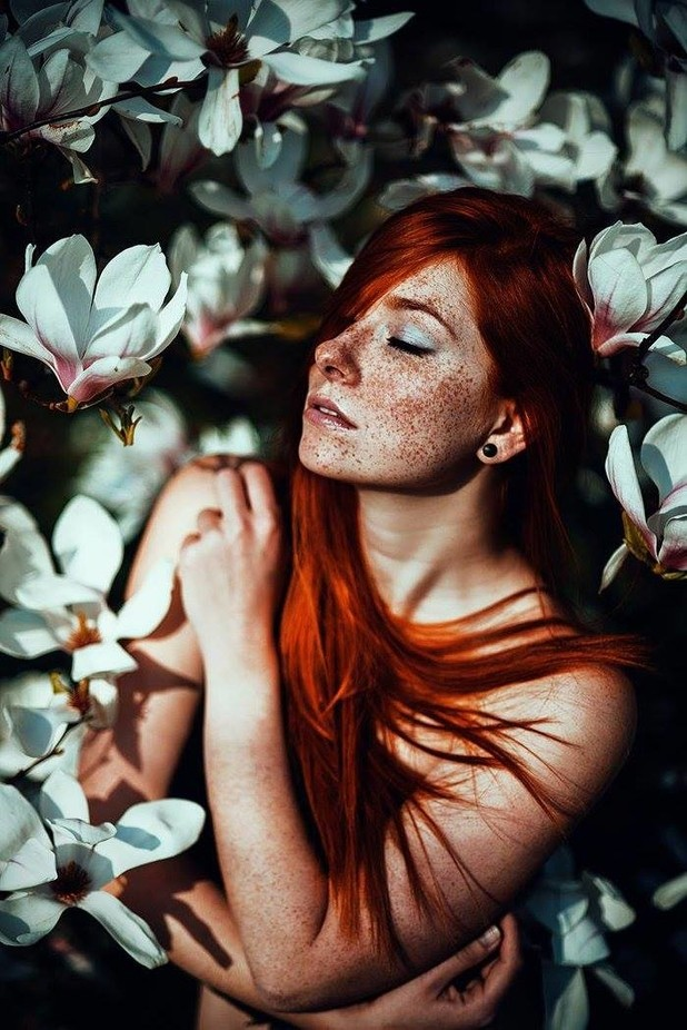 Michelle by sollenaphotography - Red Hair Photo Contest