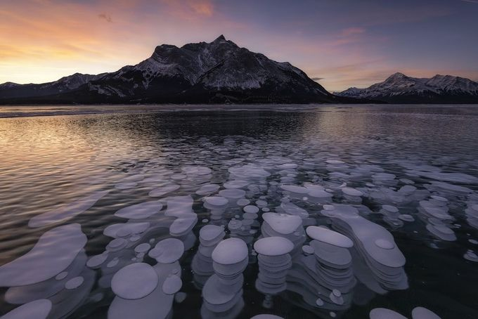 Methane Bubbles by sherwincalaluan - Rugged Landscapes Photo Contest