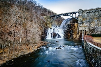 Croton Dam and spillway