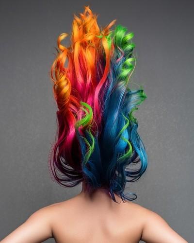 Unicorn Hairflip