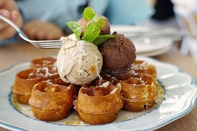 Fancy waffle