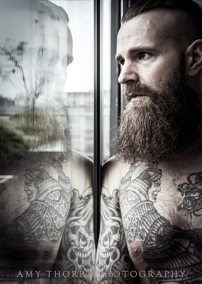 Beyond the glass by AmyThorp - Male Portraits Photo Contest