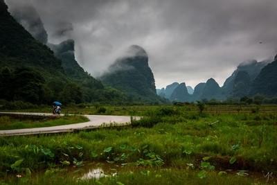 Yangshuo Landscape, China