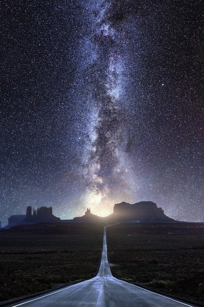 Milky Way to Monument Valley