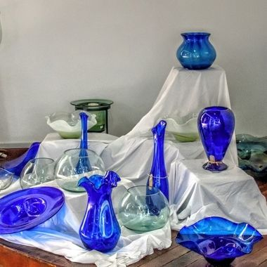 Vases & Bowls - The Glass Factory, Mauritius