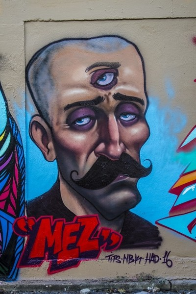 Graffiti in Houston Walls