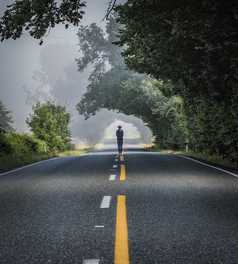 Misty Roads by simondobsn - My Best Shot Photo Contest Vol 3