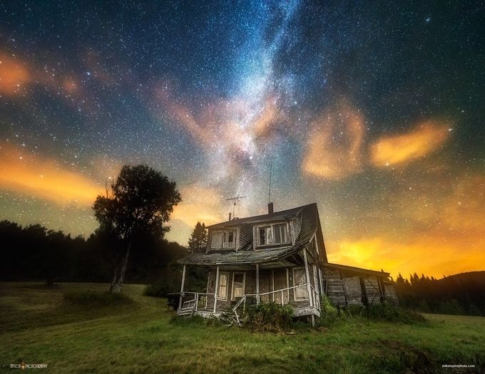 Abandoned by TaylorPhotography - Isolated Cabins Photo Contest