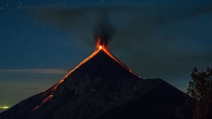 Vulcano de Fuego by corbinianbookmountain - Capture The Four Elements Photo Contest