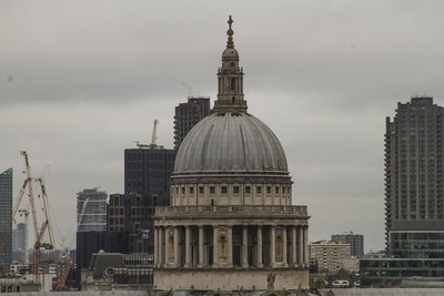 St. Paul's Cathedral Dome - London, England, UK
