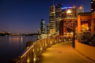 Brisbane city