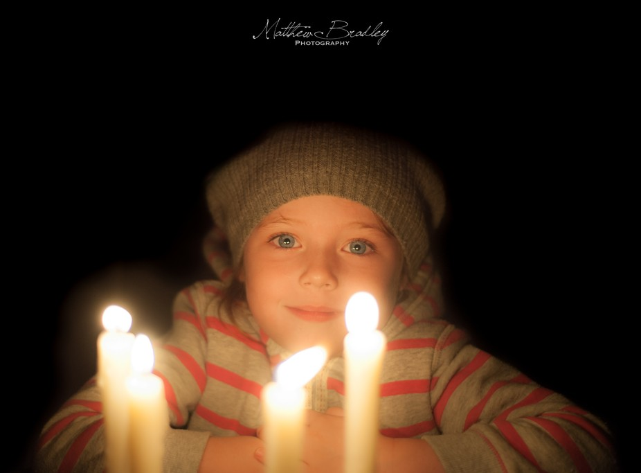 Four candles, my 5 years old selecting her own outfit and we ended up having an impromptu shoot!