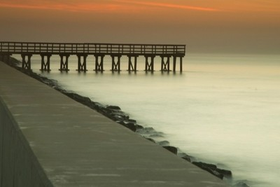Fort Monroe fishing pier