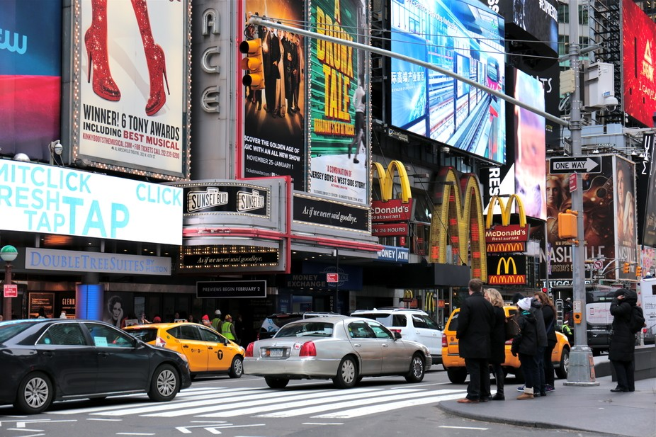Times Square, Manhattan, New York City, U.S.A