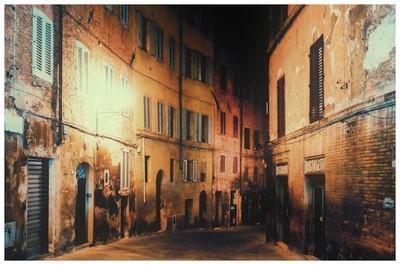 Sienna at night