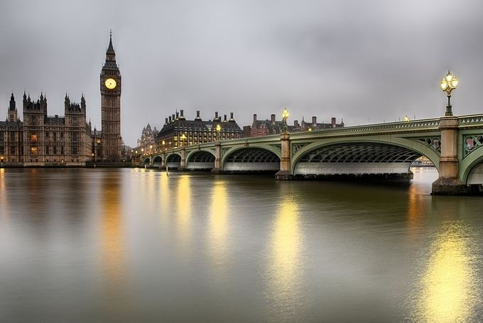 Houses of Parliament  by Stephen-Blake-Photography - Spectacular Bridges Photo Contest