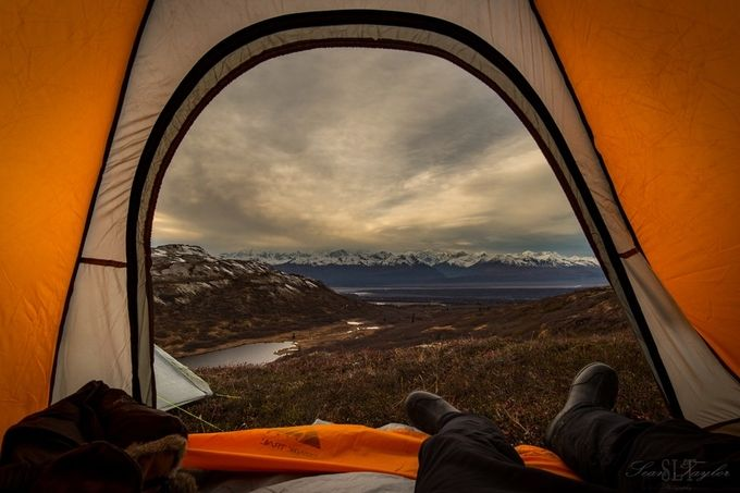 Alaskan Range by seantaylor - Outdoor Camping Photo Contest